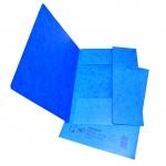 Desky papírové A4 mapa 253 prešpán, modrá