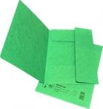 Desky papírové A4 mapa 253 prešpán, zelená