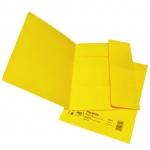 Desky papírové A4 mapa 253 prešpán, žlutá