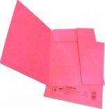 Desky papírové A4 mapa 253 prešpán, růžová