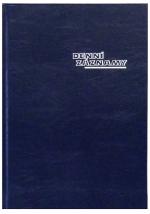 Diář denní záznamy A4, ZO 1031-01, OTK Hořovice - modrá