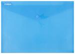 Desky TIM plastové, obálka A4 s drukem - modrá