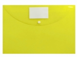 Desky TIM plastové, obálka A4 s drukem - žlutá