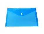 Desky TIM plastové, obálka A5 s drukem - modrá
