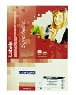 Etikety samolepicí A4 210 x 297 mm PET čirá lesklá balení 10 listů 1123G