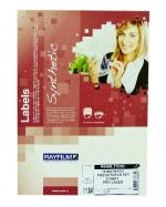 Etikety samolepicí A4 210 x 297 mm PET matná průsvitná balení 10 listů
