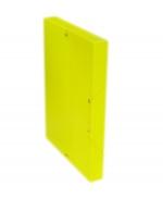 Desky A4 REGORD krabička s gumou - žlutá
