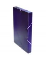 Desky A4 REGORD krabička s gumou - fialová