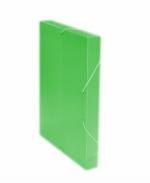 Desky A4 REGORD krabička s gumou - zelená