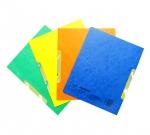 Desky papírové A4 RZC prešpán, žlutá