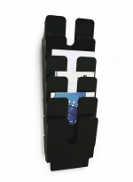 Odkladač, držák na prospekty A4 FLEXIPLUS 6, černá