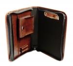 Portfolio - MA05 - složka pro řidiče s kapsou B5 - koňak