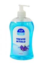Mýdlo tekuté s pumpičkou 500 ml Tip line - fresh
