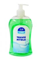 Mýdlo tekuté s pumpičkou 500 ml Tip line - sensitive