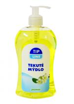Mýdlo tekuté s pumpičkou 500 ml Tip line - jasmín