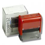 Razítko Trodat 4912/ Imprint 12, kompletní (47 x 18 mm) červený strojek