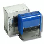 Razítko Trodat 4912/ Imprint 12, kompletní (47 x 18 mm) modrý strojek
