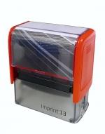 Razítko Trodat 4913/ Imprint 13, kompletní (58 x 22 mm) červený strojek