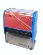 Razítko Trodat 4913/ Imprint 13, kompletní (58 x 22 mm) modrý strojek