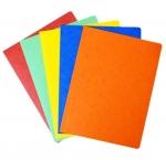 Desky papírové A4 mapa 250 prešpán - oranžová
