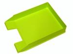 Odkladač na dokumenty plastový Herlitz - zelená neon