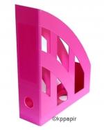 Dokument box plastový Herlitz - růžová neon