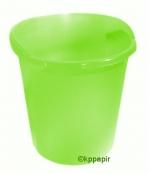 Koš na papír Herlitz 13 litrů - zelená transparentní