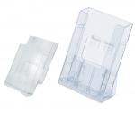 Zásobník stolní a nástěnný plastový J14.2962 - 105 x 160 x 36 mm, doprodej