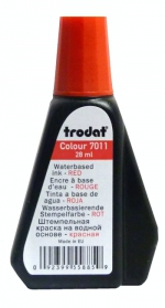 Barva do razítek TRODAT 7011 original červená