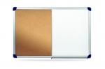 Duo tabule A09 Magnetická / Korková 90x120cm