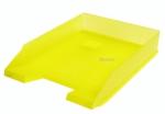 Odkladač na dokumenty plastový Herlitz - žlutá transparentní 10653772